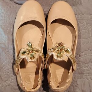 Tory Burch Minnie Two Way Ballet Flats - Size 8